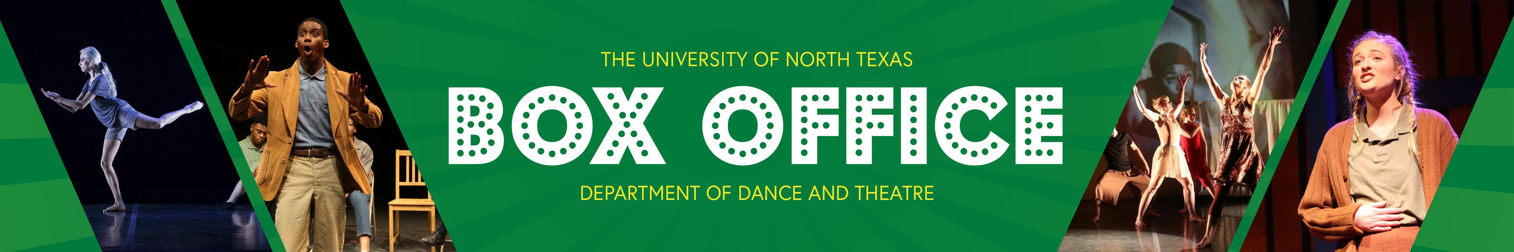 UNT | Dance and Theatre Ticketing