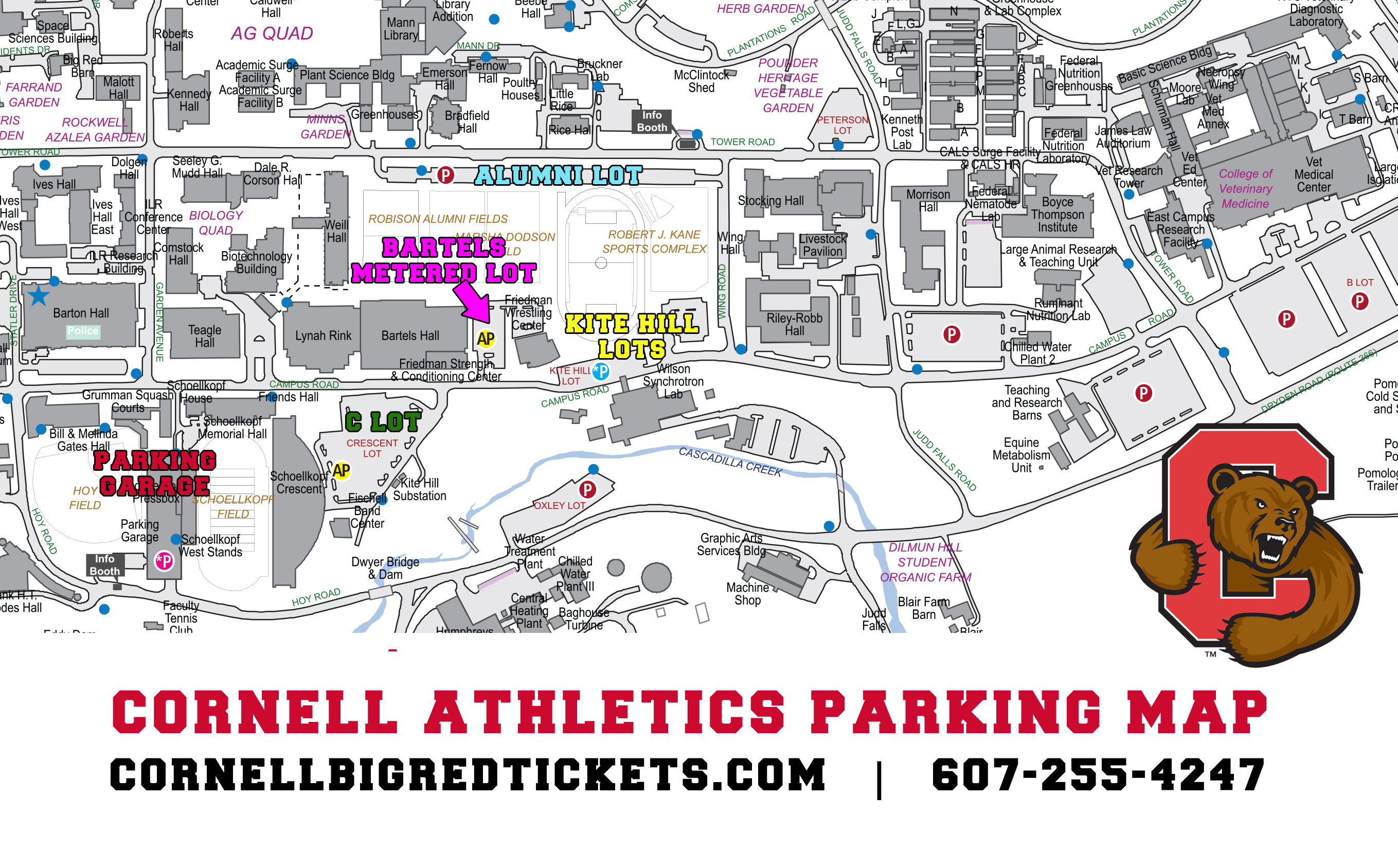 Cornell Athletic Tickets