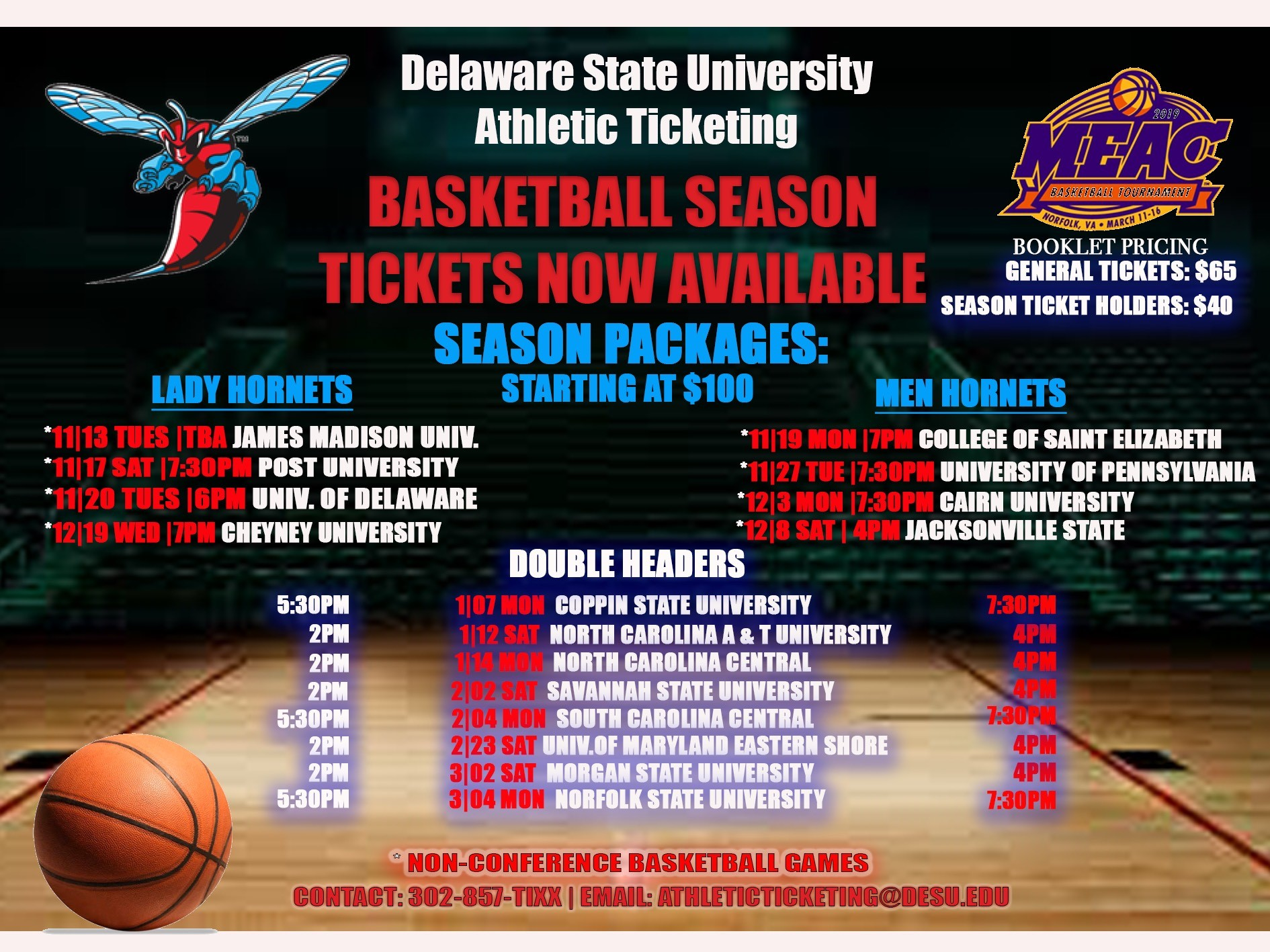 Delaware State University |  Athletics Ticketing