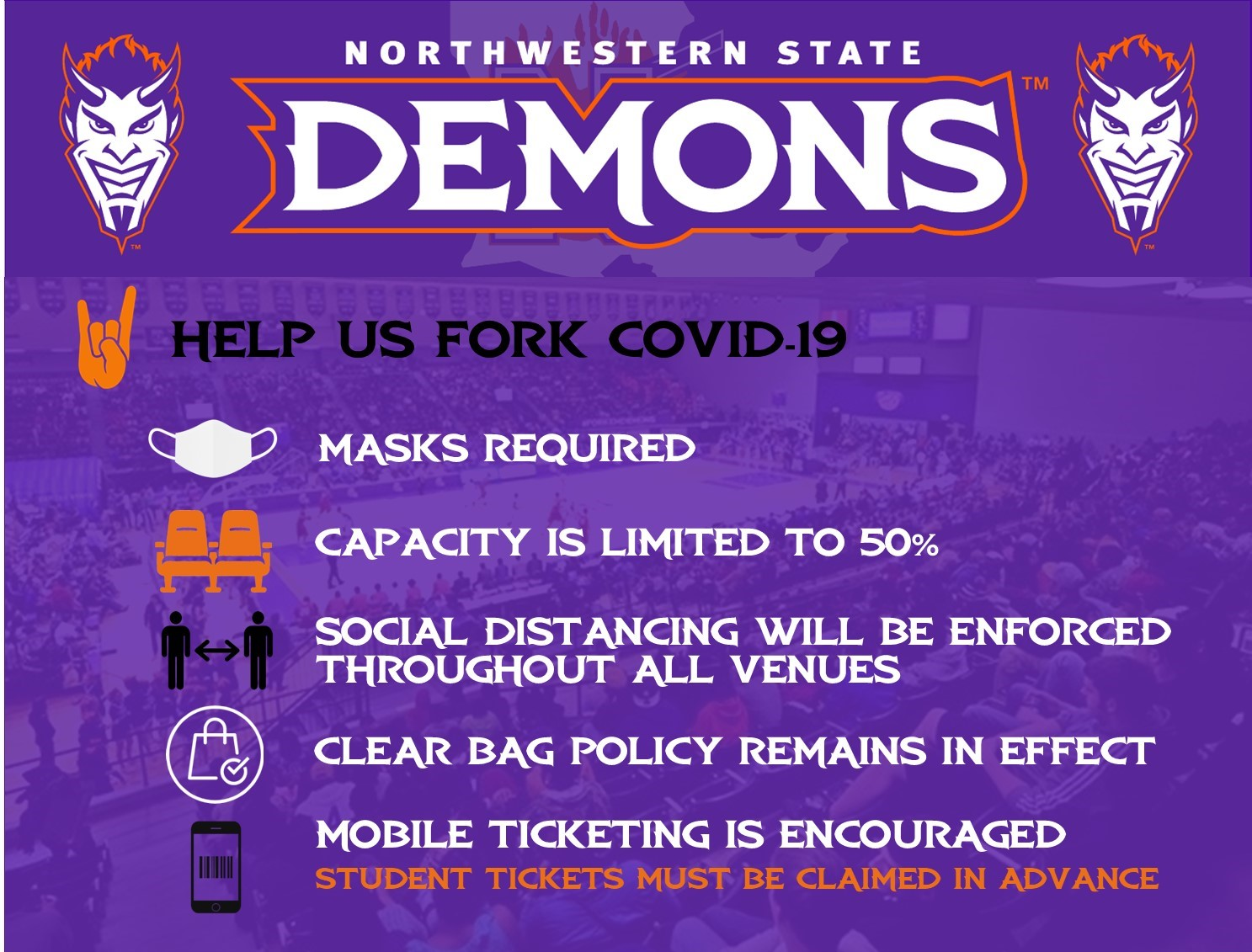 Northwestern State University | Ticketing